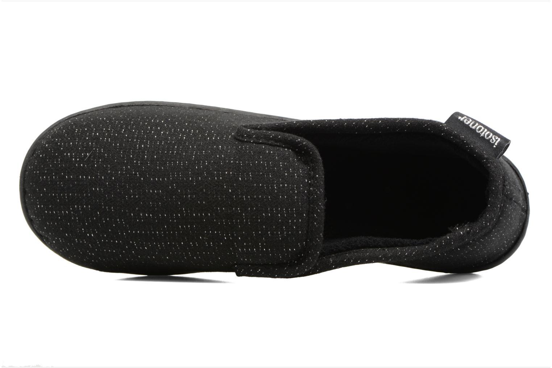 Charentaise ergonomique maille lurex Noir
