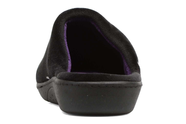 Mule ergonomique micro velours Noir
