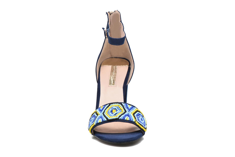 Sandales et nu-pieds Dorothy Perkins Sizzle Bleu vue portées chaussures