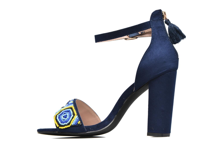 Sandales et nu-pieds Dorothy Perkins Sizzle Bleu vue face
