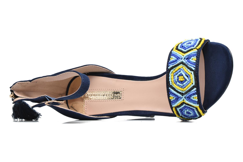 Sandales et nu-pieds Dorothy Perkins Sizzle Bleu vue gauche