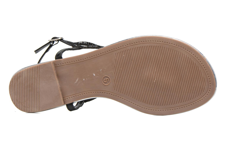 Sandales et nu-pieds Dorothy Perkins Fiesta Noir vue haut