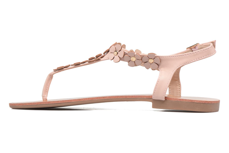 Sandales et nu-pieds Dorothy Perkins Fressia Rose vue face