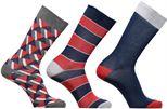 Medias y Calcetines Accesorios Chaussettes Homme Graphique Pack de 3 Coton