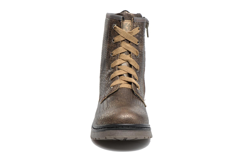 Bottines et boots Xti Maxi 53908 Marron vue portées chaussures