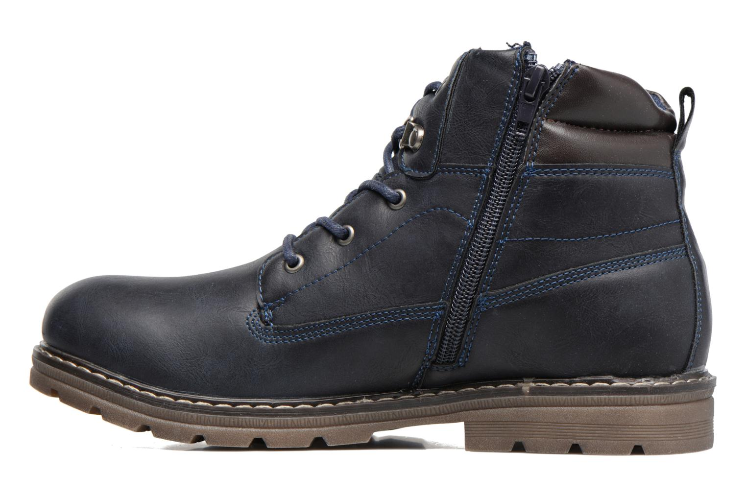 Bottines et boots Xti Antos 53924 Bleu vue face