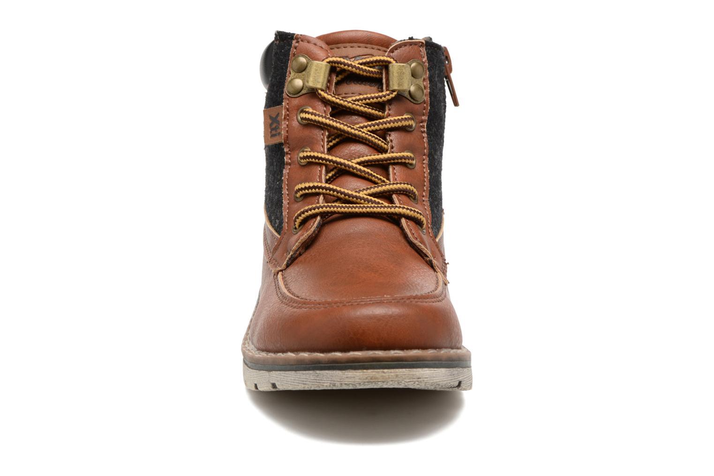 Bottines et boots Xti Camilla 53929 Marron vue portées chaussures