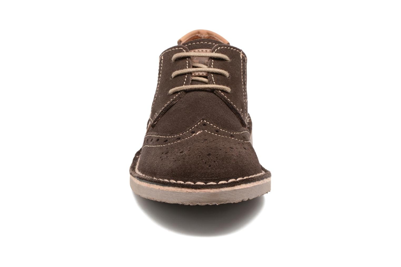 Chaussures à lacets Xti Blancha 53947 Marron vue portées chaussures