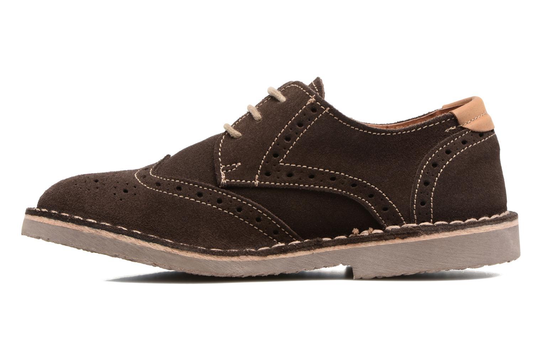 Chaussures à lacets Xti Blancha 53947 Marron vue face