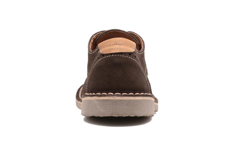 Chaussures à lacets Xti Blancha 53947 Marron vue droite