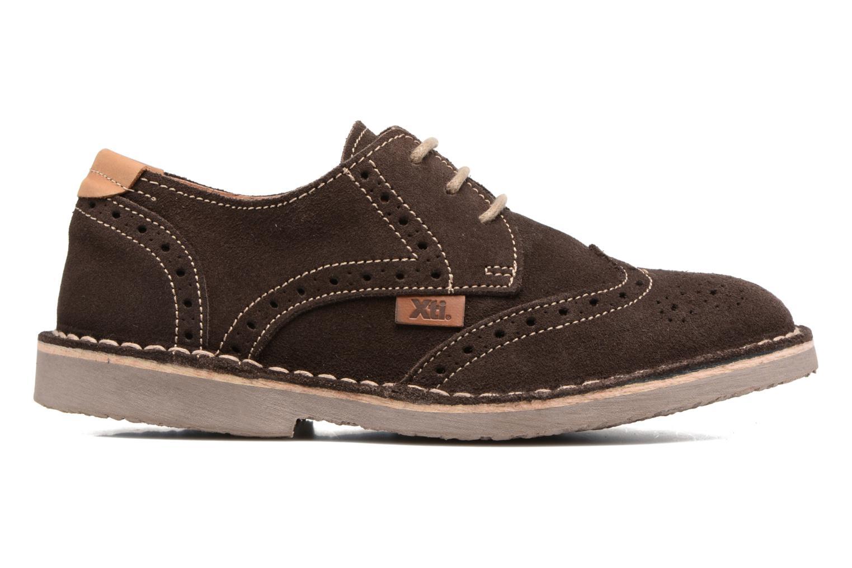Chaussures à lacets Xti Blancha 53947 Marron vue derrière