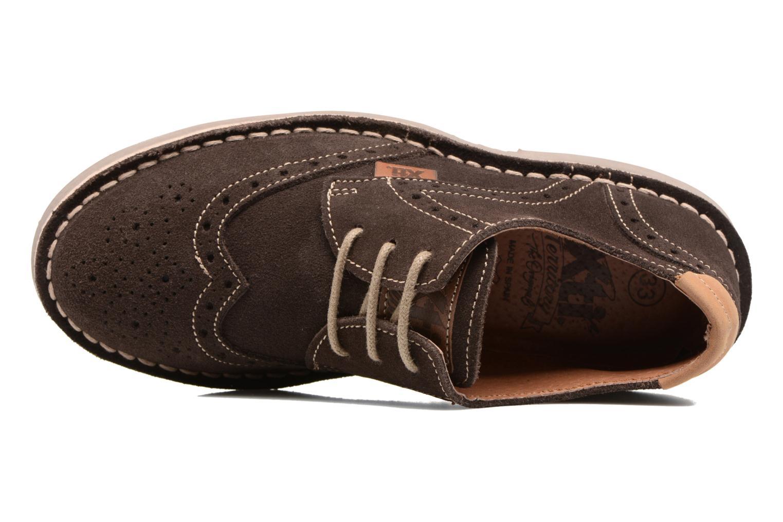 Chaussures à lacets Xti Blancha 53947 Marron vue gauche
