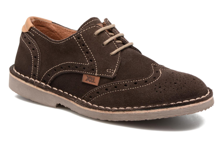Chaussures à lacets Xti Blancha 53947 Marron vue détail/paire