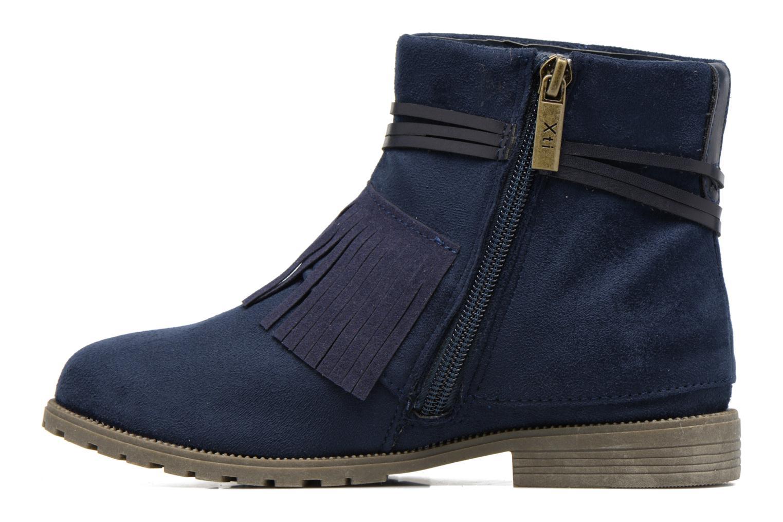 Bottines et boots Xti Clementina 53992 Bleu vue face