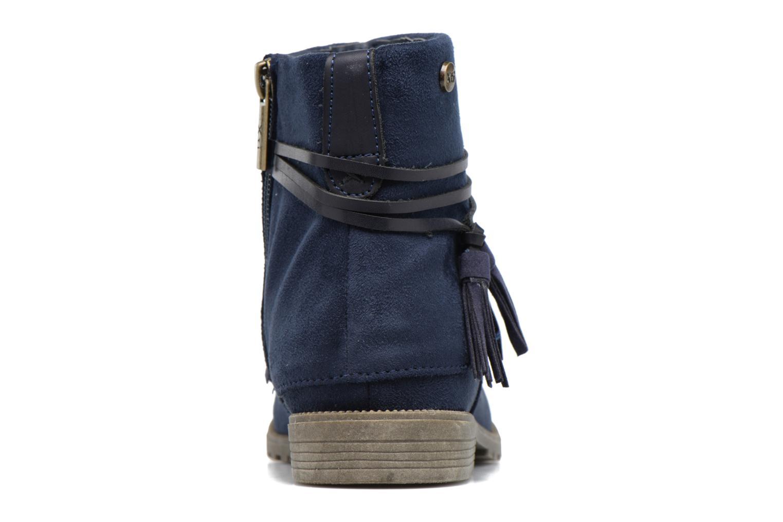Bottines et boots Xti Clementina 53992 Bleu vue droite