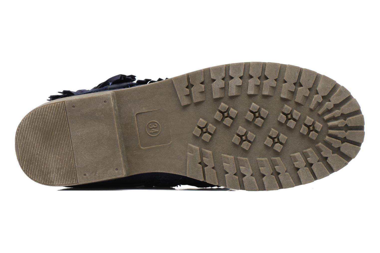 Bottines et boots Xti Clementina 53992 Bleu vue haut