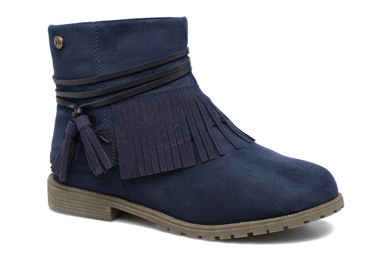 Bottines et boots Xti Clementina 53992 Bleu vue détail/paire