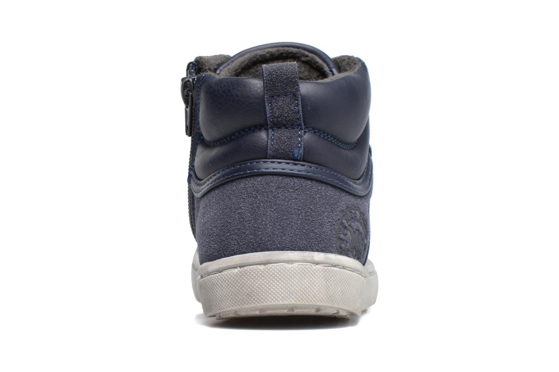 Baskets Xti Pasci 54008 Bleu vue droite