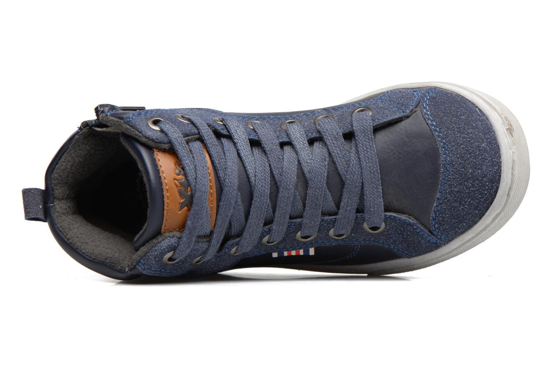 Baskets Xti Pasci 54008 Bleu vue gauche
