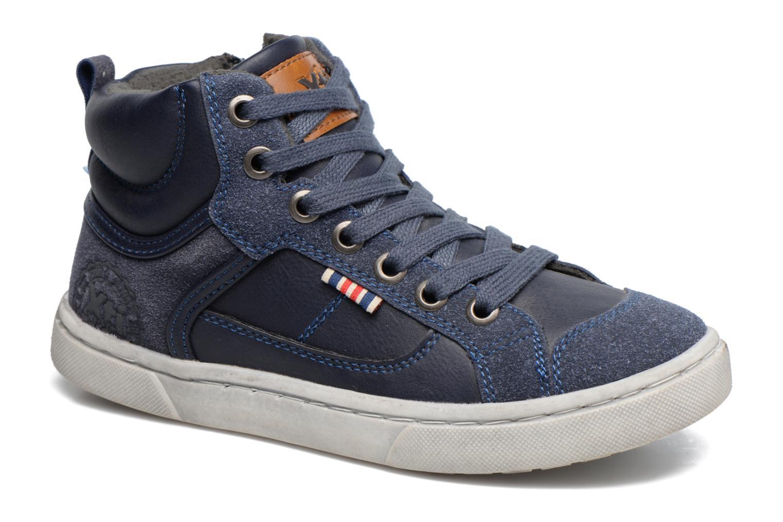 Baskets Xti Pasci 54008 Bleu vue détail/paire
