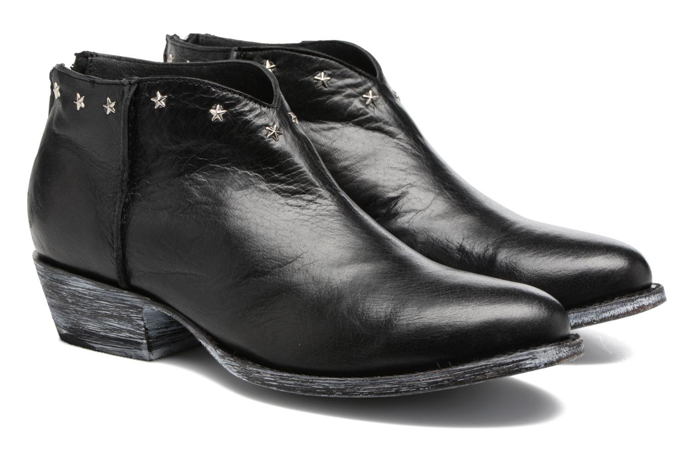 Bottines et boots Mexicana Rush Noir vue 3/4