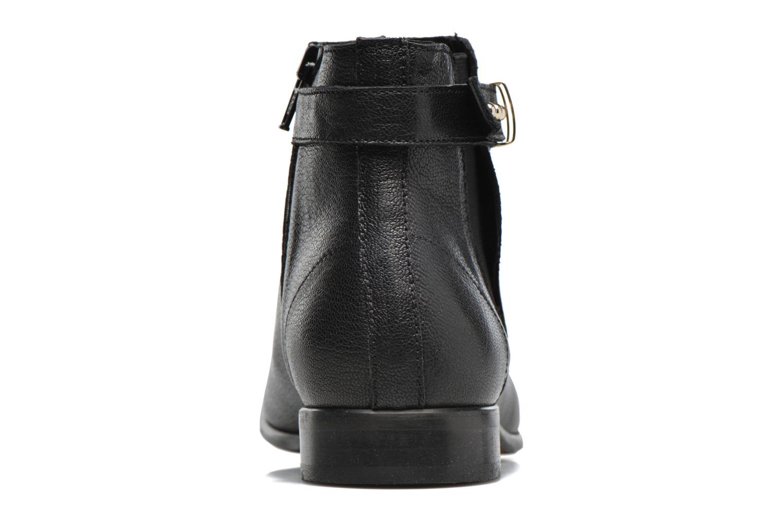 Bottines et boots Georgia Rose Aplati Noir vue droite