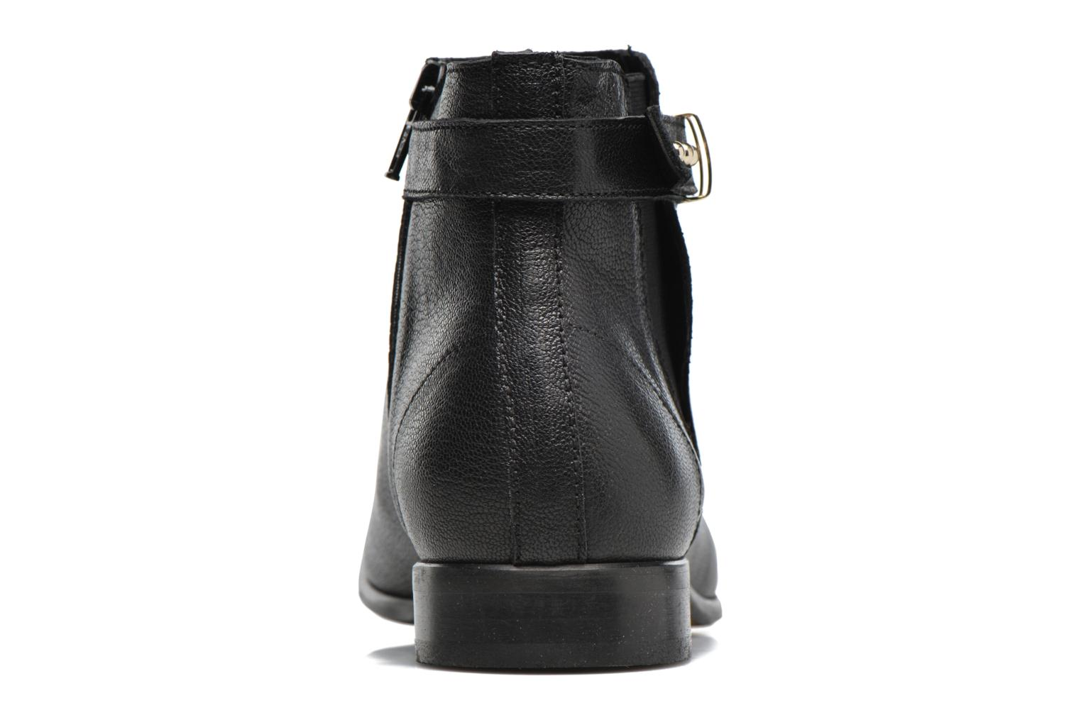 Ankle boots Georgia Rose Aplati Black view from the right