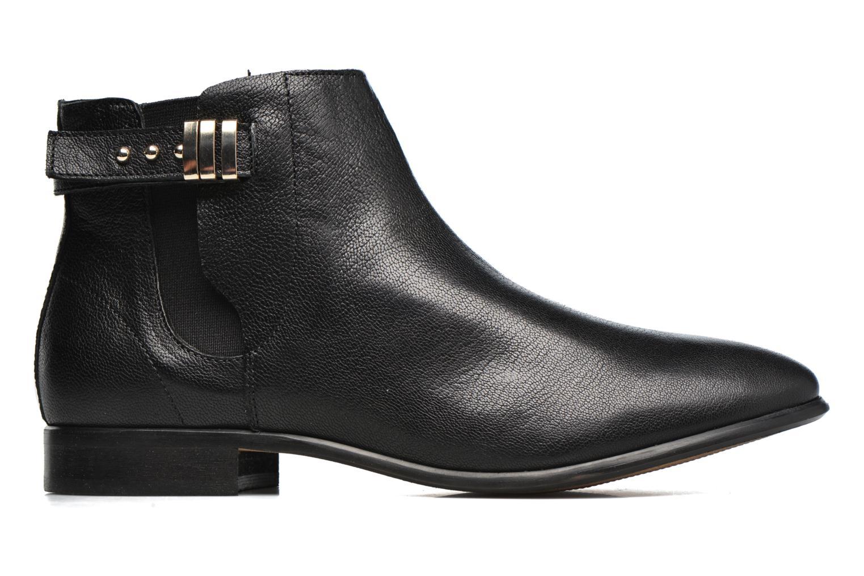 Bottines et boots Georgia Rose Aplati Noir vue derrière