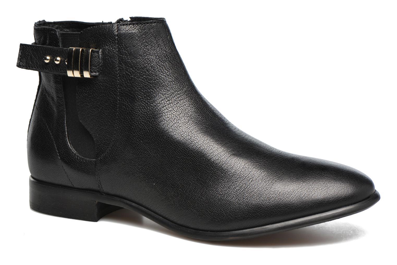Bottines et boots Georgia Rose Aplati Noir vue détail/paire