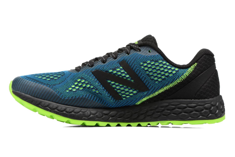 Chaussures de sport New Balance MTGOBI Bleu vue face