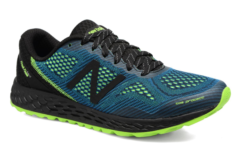 Chaussures de sport New Balance MTGOBI Bleu vue détail/paire