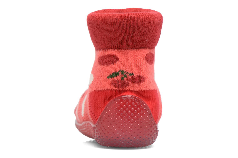 Sokken en panty's SARENZA POP Chaussons Chaussettes POP  Slippers Rood rechts