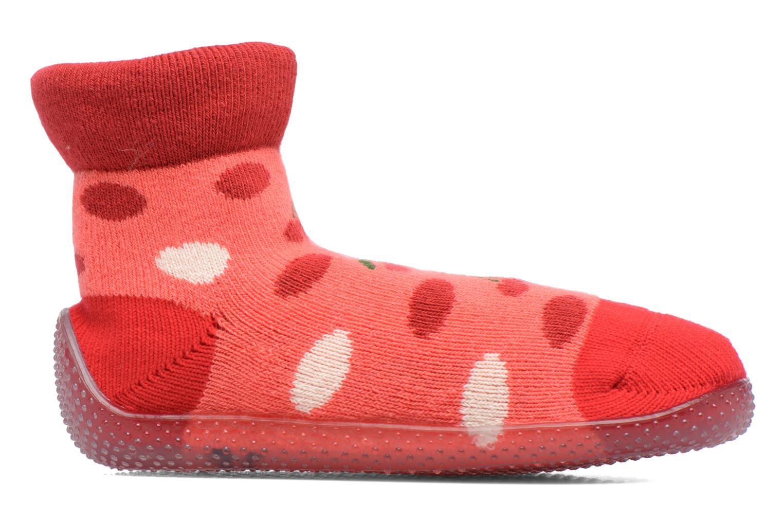 Sokken en panty's SARENZA POP Chaussons Chaussettes POP  Slippers Rood achterkant