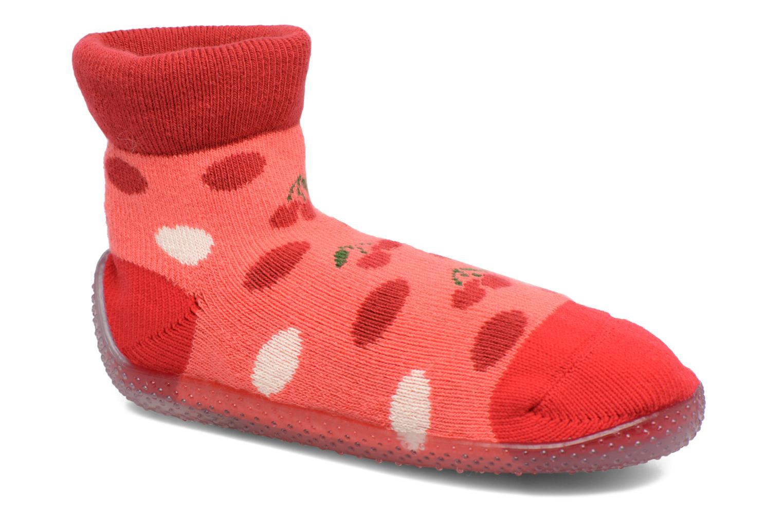 Chaussettes et collants SARENZA POP Chaussons Chaussettes POP  Slippers Rouge vue détail/paire