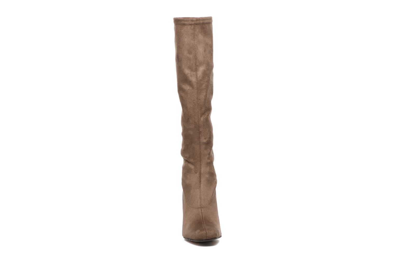 Bottes Elizabeth Stuart Giffy 342 Beige vue portées chaussures