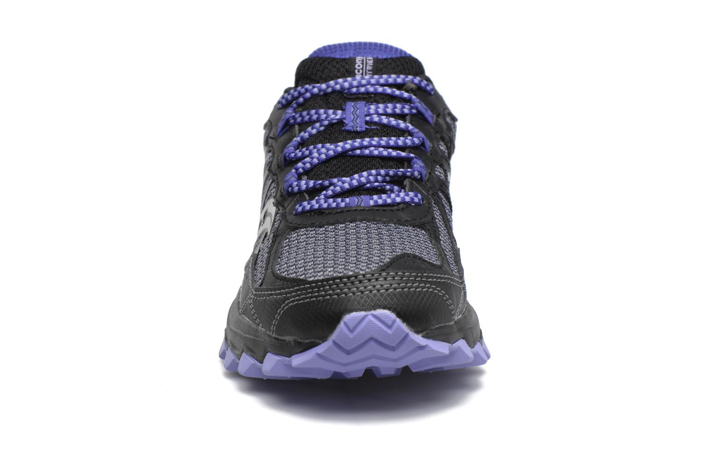 Chaussures de sport Saucony Excursion Tr11 Gtx W Violet vue portées chaussures
