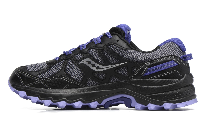 Chaussures de sport Saucony Excursion Tr11 Gtx W Violet vue face
