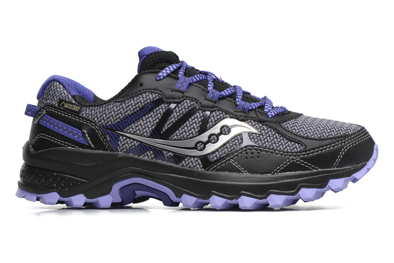 Chaussures de sport Saucony Excursion Tr11 Gtx W Violet vue derrière