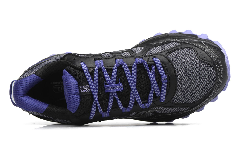 Chaussures de sport Saucony Excursion Tr11 Gtx W Violet vue gauche
