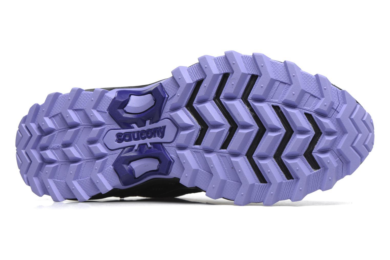 Chaussures de sport Saucony Excursion Tr11 Gtx W Violet vue haut