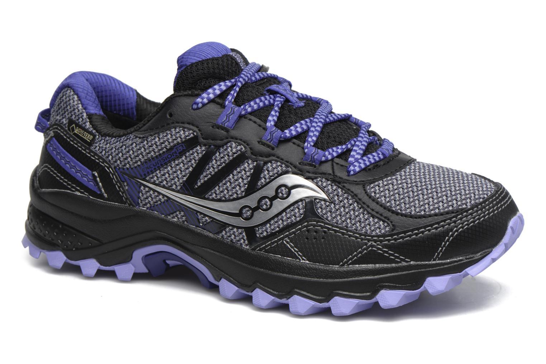 Chaussures de sport Saucony Excursion Tr11 Gtx W Violet vue détail/paire