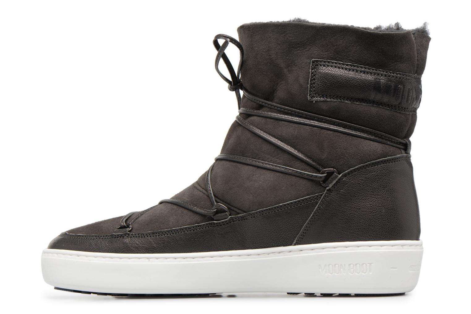 Chaussures de sport Moon Boot Pulse low shearling Gris vue face