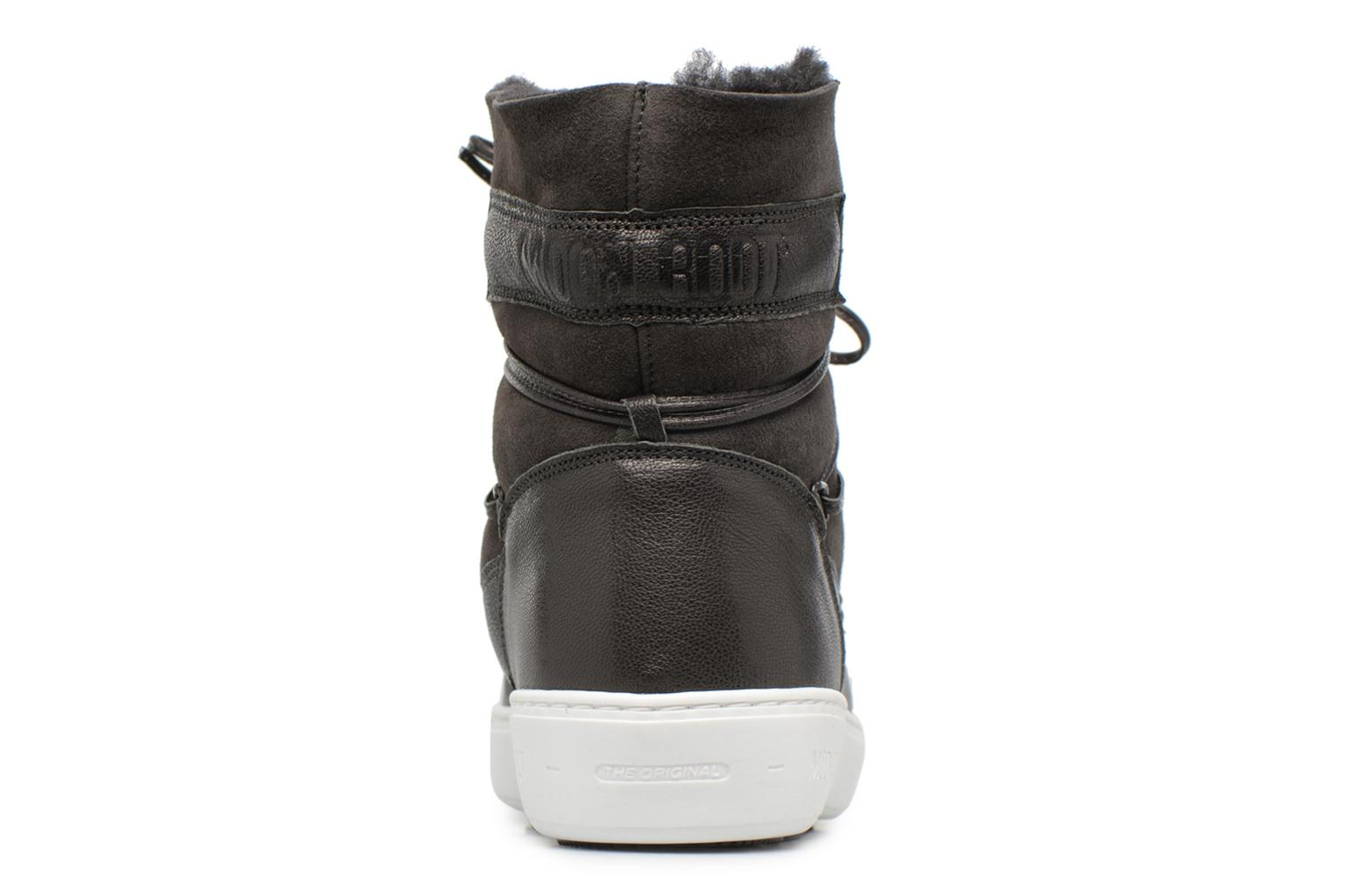 Sport shoes Moon Boot Pulse low shearling Grey view from the right