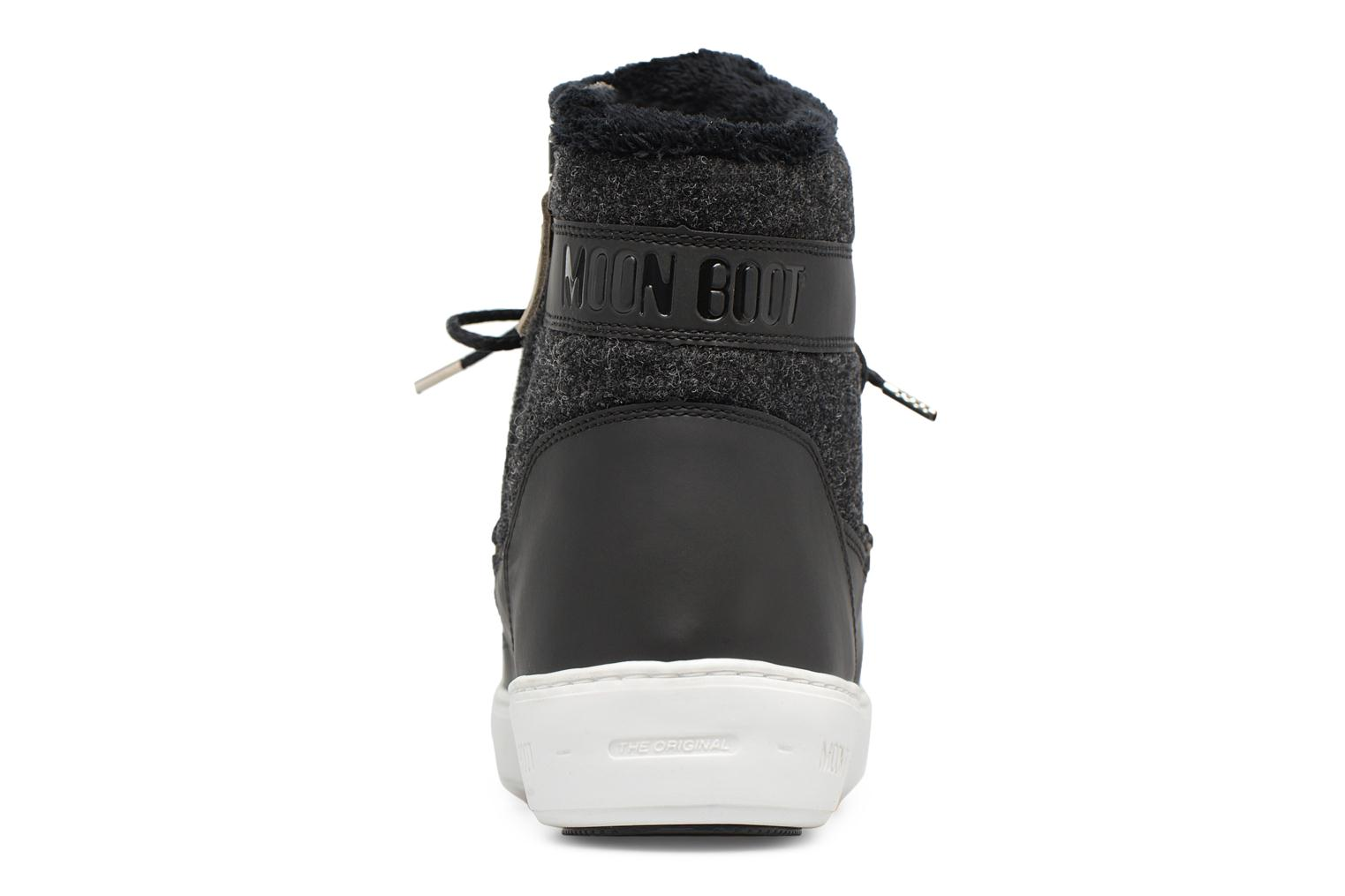 Sport shoes Moon Boot Pulse Black view from the right
