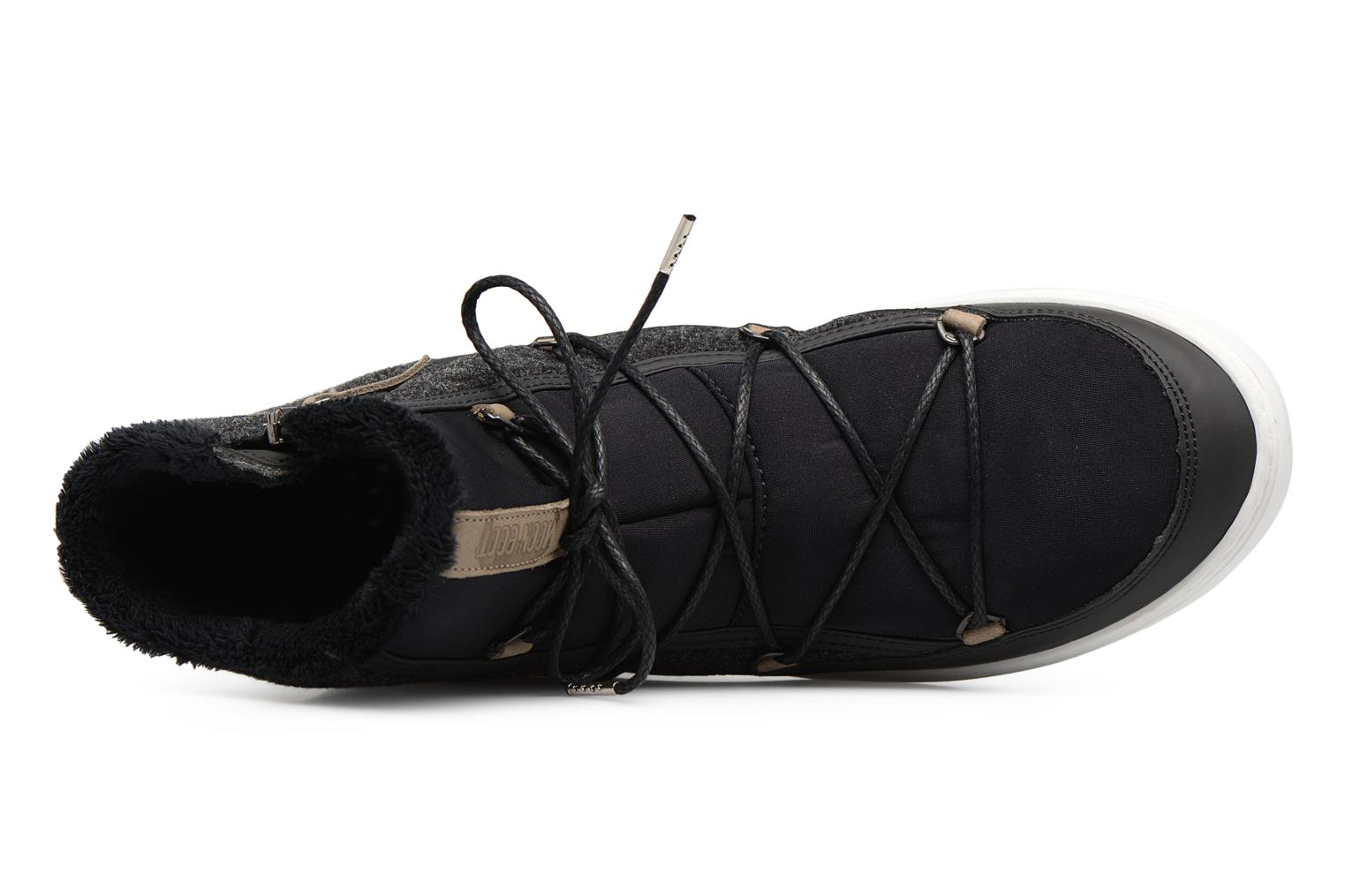 Sport shoes Moon Boot Pulse Black view from the left