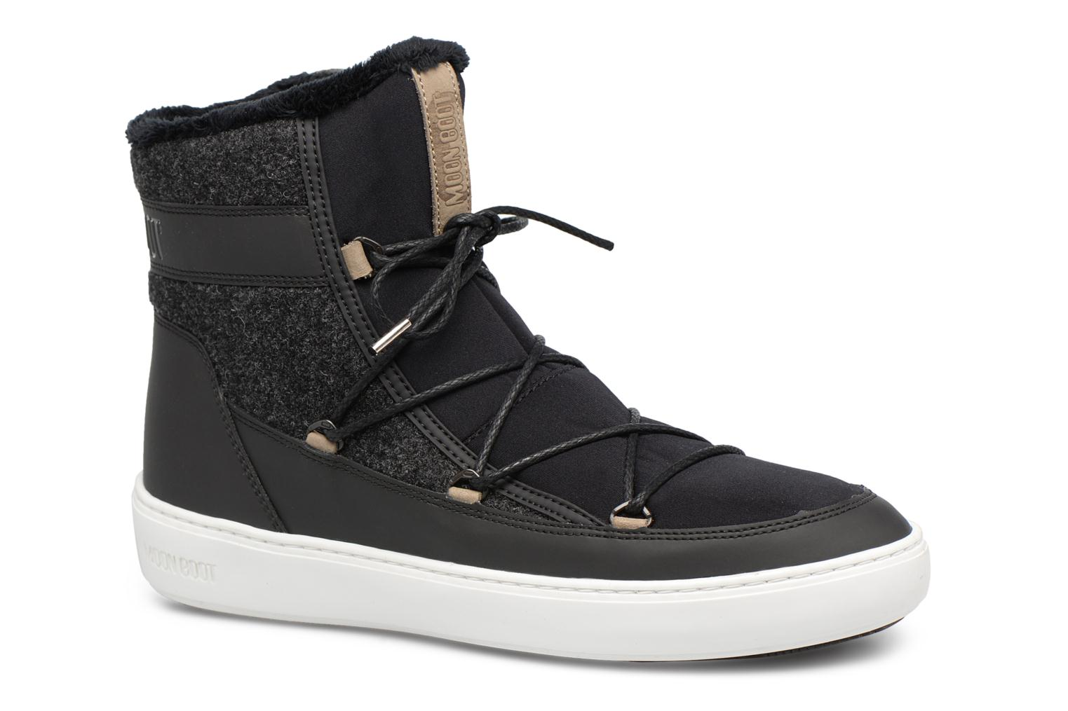 Sport shoes Moon Boot Pulse Black detailed view/ Pair view