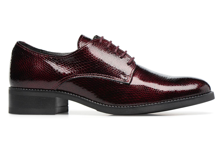 Chaussures à lacets Georgia Rose Galion Bordeaux vue derrière