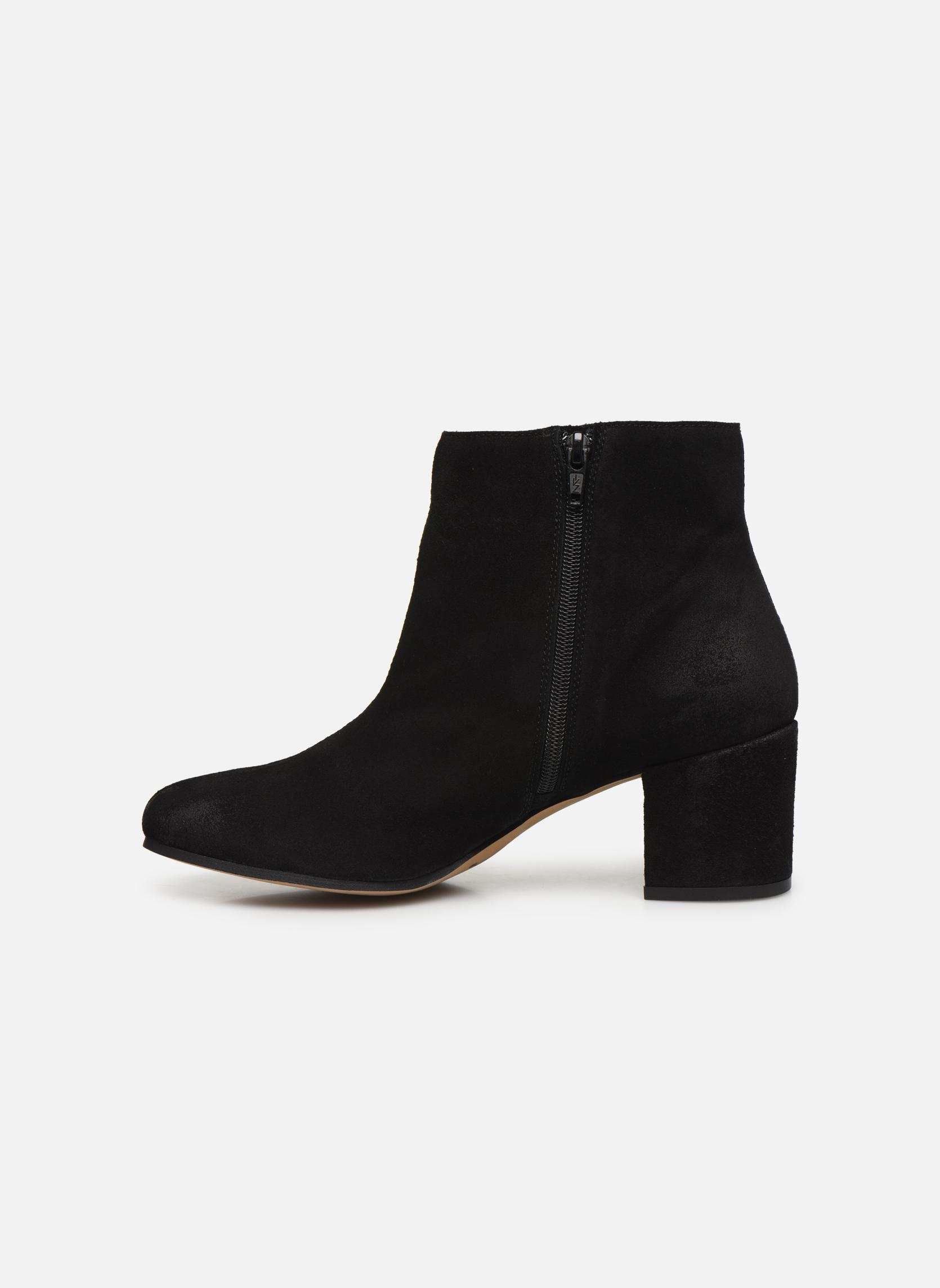 Bottines et boots MTNG Blanchia Noir vue face