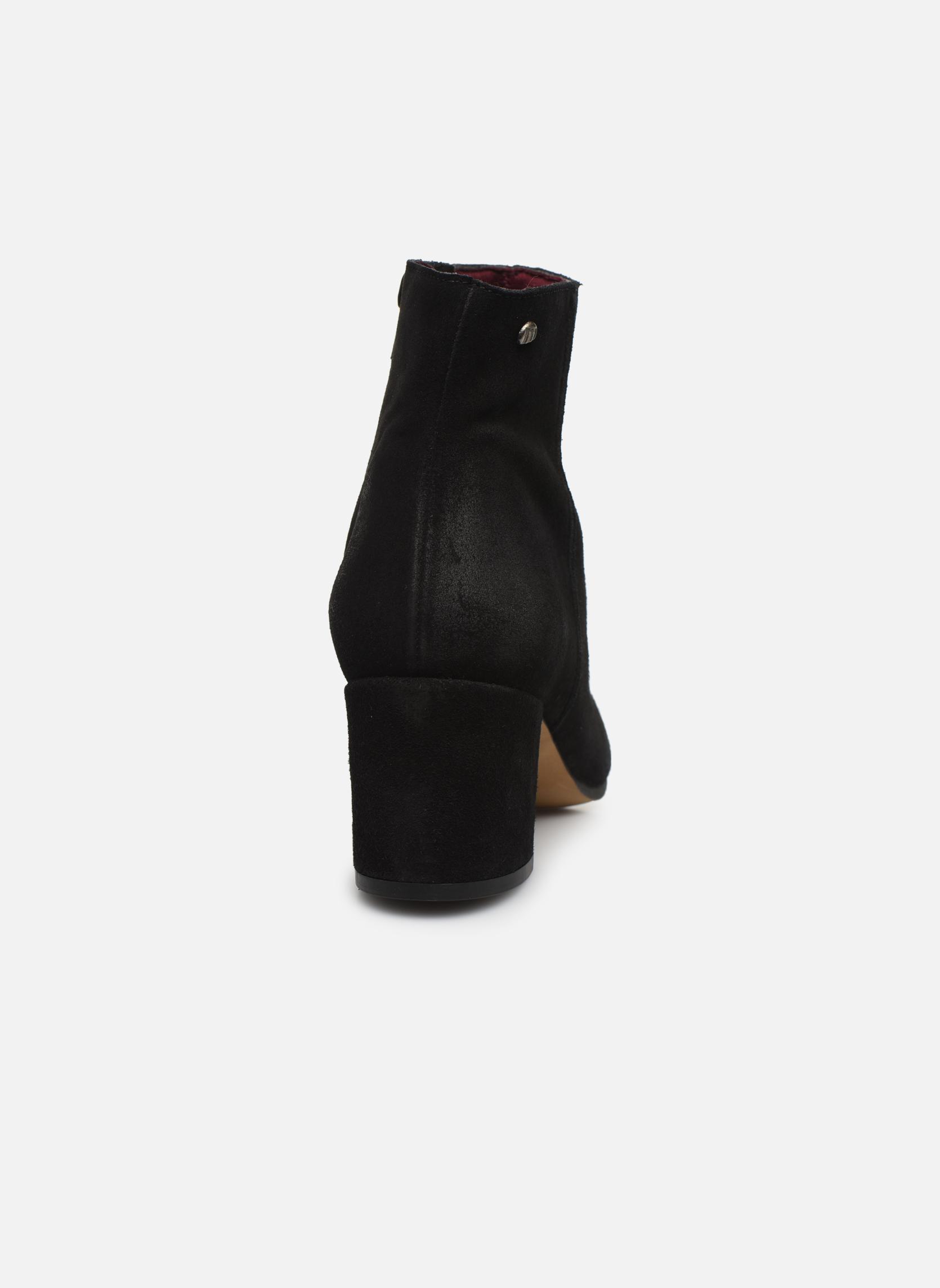 Bottines et boots MTNG Blanchia Noir vue droite
