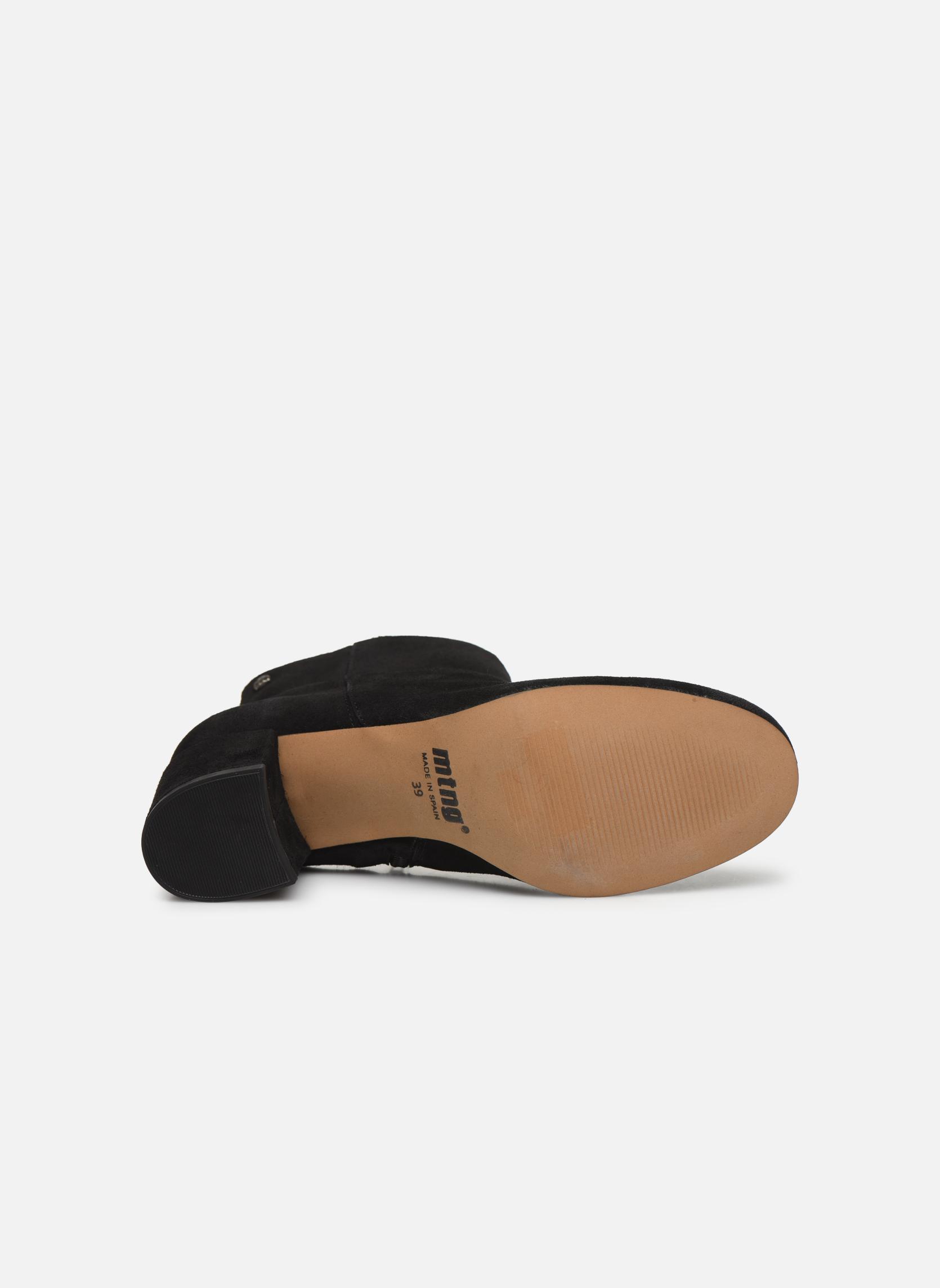 Bottines et boots MTNG Blanchia Noir vue haut